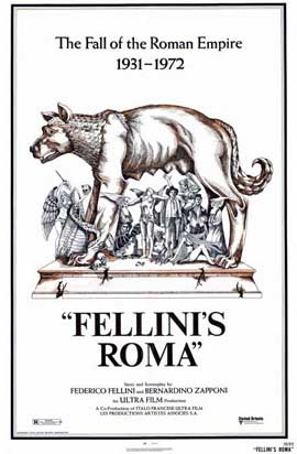 Fellini's Roma - 11 x 17 Movie Poster - Style A