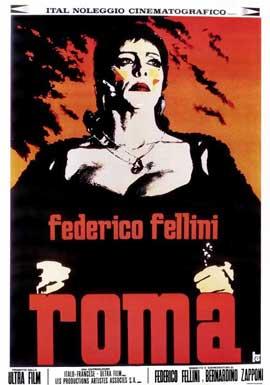 Fellini's Roma - 11 x 17 Movie Poster - Italian Style A