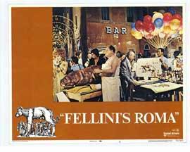 Fellini's Roma - 11 x 14 Movie Poster - Style E