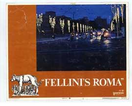 Fellini's Roma - 11 x 14 Movie Poster - Style C