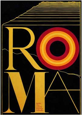 Fellini's Roma - 27 x 40 Movie Poster - Style B