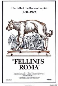 Fellini's Roma - 27 x 40 Movie Poster - Style A