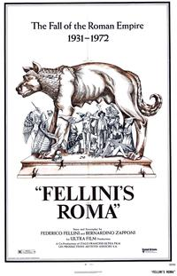 Fellini's Roma - 43 x 62 Movie Poster - Bus Shelter Style A