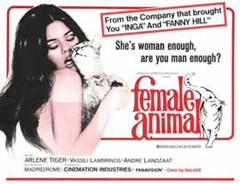 Female Animal - 11 x 14 Movie Poster - Style A