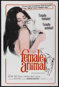 Female Animal - 43 x 62 Movie Poster - Bus Shelter Style A