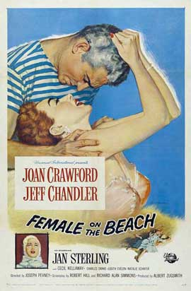 Female on the Beach - 11 x 17 Movie Poster - Style A