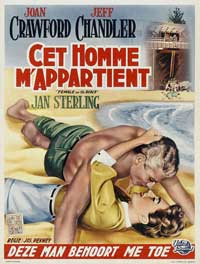 Female on the Beach - 11 x 17 Movie Poster - German Style A