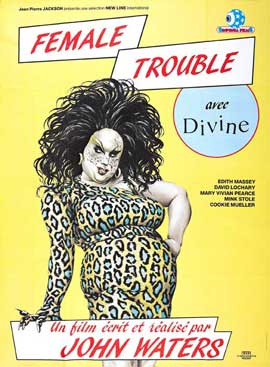 Female Trouble - 27 x 40 Movie Poster - French Style A