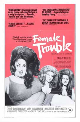 Female Trouble - 27 x 40 Movie Poster - Style B