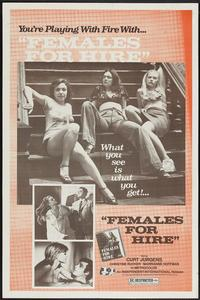 Females for Hire - 27 x 40 Movie Poster - German Style A