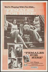 Females for Hire - 43 x 62 Movie Poster - Bus Shelter Style A