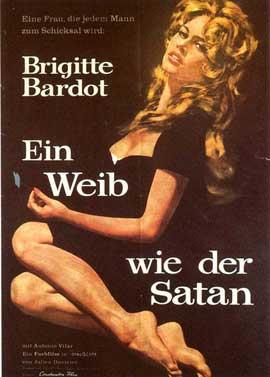 Femme et le pantin, La - 11 x 17 Movie Poster - German Style A