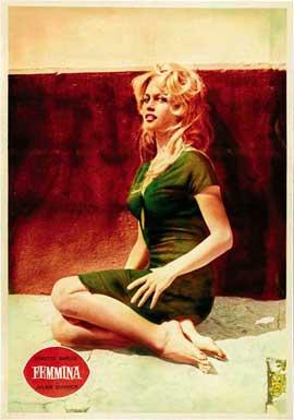 Femme et le pantin, La - 27 x 40 Movie Poster - Italian Style A