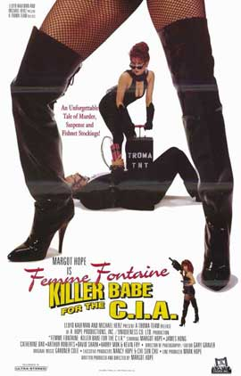 Femme Fontaine: Killer Babe for the C.I.A. - 11 x 17 Movie Poster - Style A