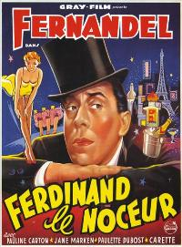 Ferdinand le noceur - 11 x 17 Movie Poster - French Style A