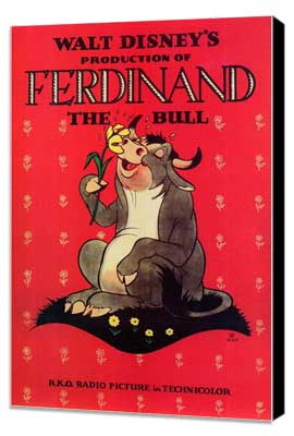 Ferdinand the Bull - 27 x 40 Movie Poster - Style A - Museum Wrapped Canvas