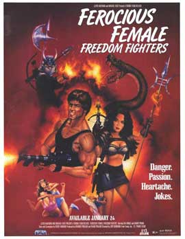 Ferocious Female Freedom Fighters - 27 x 40 Movie Poster - Style A