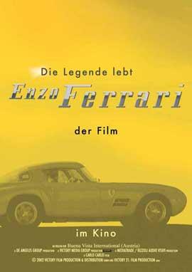 Ferrari - 11 x 17 Movie Poster - German Style A