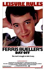 Ferris Bueller's Day Off - 27 x 40 Movie Poster - Style B