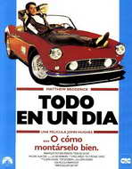 Ferris Bueller's Day Off - 27 x 40 Movie Poster - Spanish Style A