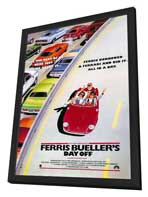 Ferris Bueller's Day Off - 27 x 40 Movie Poster - Style E - in Deluxe Wood Frame