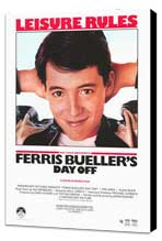 Ferris Bueller's Day Off - 27 x 40 Movie Poster - Style C - Museum Wrapped Canvas