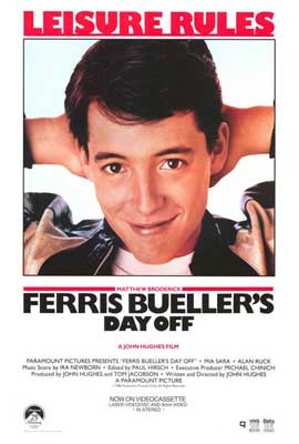 Ferris Bueller's Day Off - 27 x 40 Movie Poster