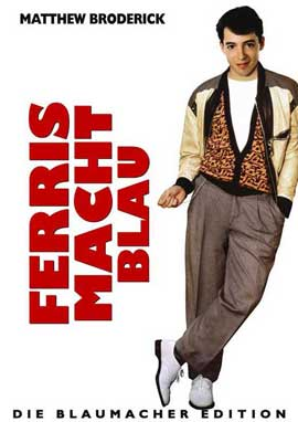 Ferris Bueller's Day Off - 27 x 40 Movie Poster - Style D