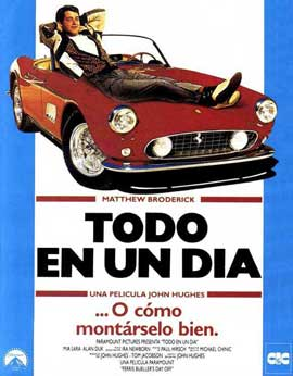 Ferris Bueller's Day Off - 11 x 17 Movie Poster - Spanish Style A