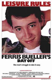 Ferris Bueller's Day Off - 11 x 17 Movie Poster - Style B - Museum Wrapped Canvas