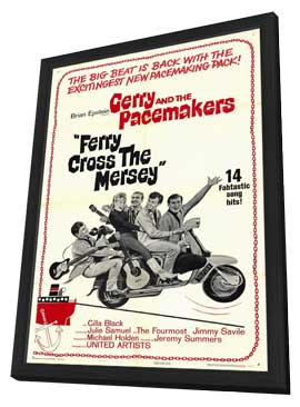 Ferry Cross the Mersey - 11 x 17 Movie Poster - Style A - in Deluxe Wood Frame