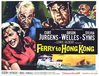 Ferry to Hong Kong - 22 x 28 Movie Poster - Half Sheet Style B