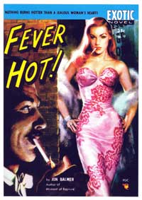 Fever Hot! - 11 x 17 Retro Book Cover Poster