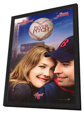Fever Pitch - 27 x 40 Movie Poster - Style A - in Deluxe Wood Frame