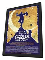Fiddler on the Roof (Broadway) - 27 x 40 Poster - Style A - in Deluxe Wood Frame