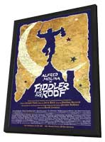 Fiddler on the Roof (Broadway) - 14 x 22 Poster - Style A - in Deluxe Wood Frame