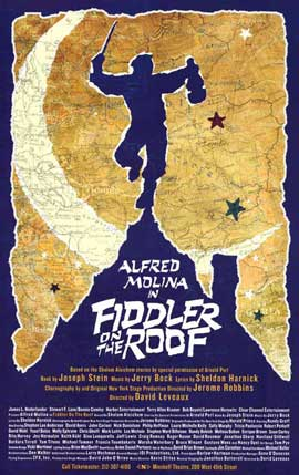 Fiddler on the Roof (Broadway) - 11 x 17 Poster - Style A