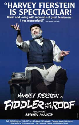 Fiddler on the Roof (Broadway) - 11 x 17 Poster - Style B