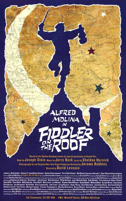 Fiddler On The Roof Broadway Movie Posters From Movie