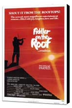 Fiddler on the Roof - 11 x 17 Movie Poster - Style A - Museum Wrapped Canvas