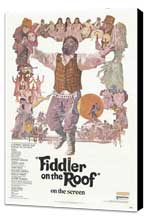 Fiddler on the Roof - 27 x 40 Movie Poster - Style A - Museum Wrapped Canvas