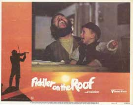 Fiddler on the Roof - 11 x 14 Movie Poster - Style D