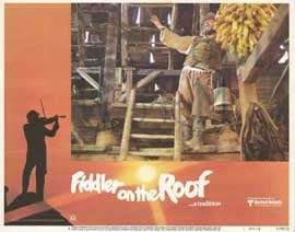 Fiddler on the Roof - 11 x 14 Movie Poster - Style H