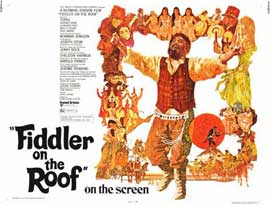 Fiddler on the Roof - 11 x 14 Movie Poster - Style B