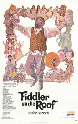 Fiddler on the Roof - 11 x 17 Movie Poster - Style B