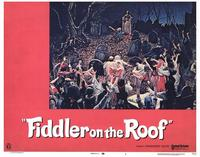 Fiddler on the Roof - 11 x 14 Movie Poster - Style I