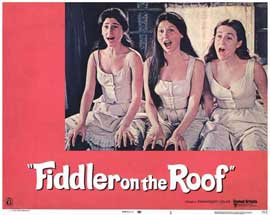 Fiddler on the Roof - 11 x 14 Movie Poster - Style J