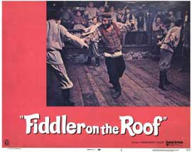 Fiddler on the Roof - 11 x 14 Movie Poster - Style K