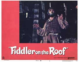 Fiddler on the Roof - 11 x 14 Movie Poster - Style L