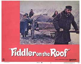 Fiddler on the Roof - 11 x 14 Movie Poster - Style R